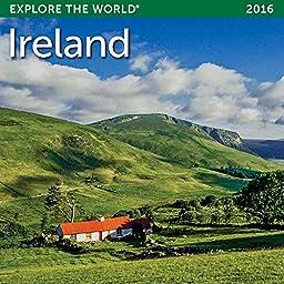 2016 Ireland Mini Wall Calendar by Ziga