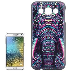 Crazy4Gadget Elephant Pattern Hard Case for Samsung Galaxy E7 / E700