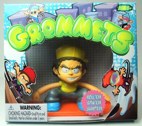 Grommets 2.6 inch Figure - Paul Walls (yellow shirt)