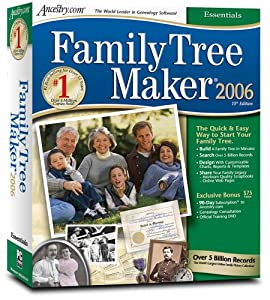 Family Tree Maker 2006 Essentials