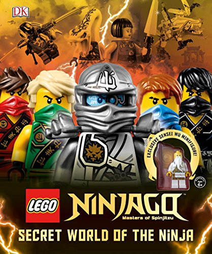Lego Ninja Books