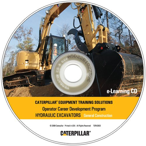 Hydraulic Excavator E-Learning CD General Construction
