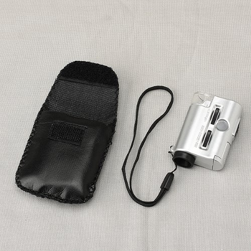 Neewer® Mini 30 To 60X Portable Pocket Microscope Jewelry Loupe Led Uv Light Magnifier