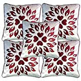 Belive-Me Royal Velvet White Cushion Covers (Set Of 5)