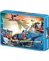 Schmidt - 56606 - Puzzle Classique - Playmobil - Toutes Voiles Dehors - 60 Pièces