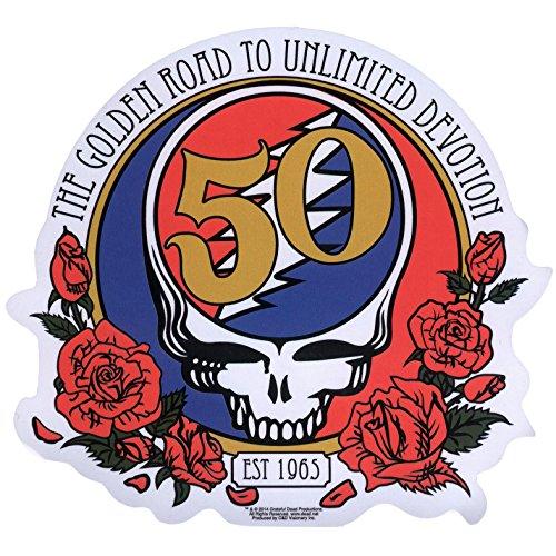C&D Visionary Grateful Dead 50th Anniversary Sticker - 1