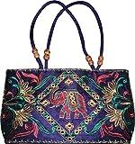 Czds India Women's Blue Handbag (BAG-40)