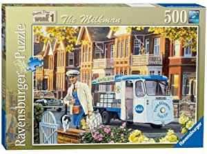 Ravensburger Happy Days at Work No. 1 - The Milkman - 500pc Jigsaw Puzzle