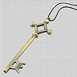 進撃の巨人 地下室の鍵 ネックレス チョーカー おまけ付き!