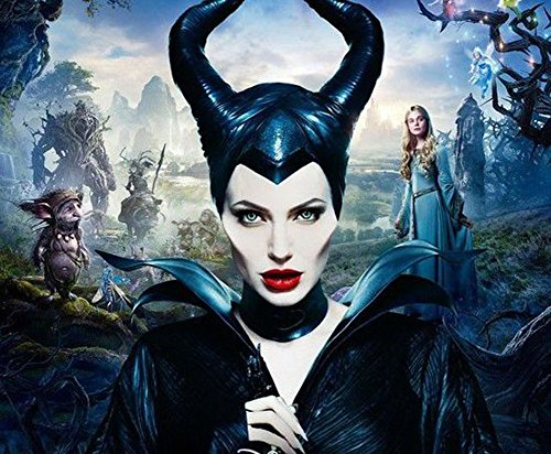 OM(TM) Womens Maleficent Deluxe Latex Horns Head piece
