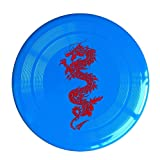 Frisbee Chinese Dragon Pet's Safe Plastic Frisbee Flying Saucer Flying Disc Sport Disc Fun Flyer Frisbee