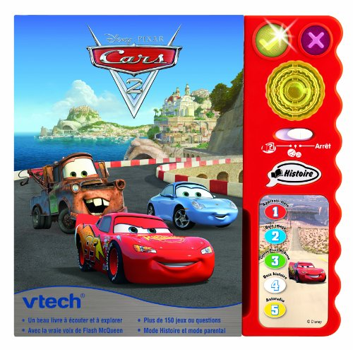 vtech 58005 jeu educatif electronique magi livre cars 2 meilleur centre de jouets. Black Bedroom Furniture Sets. Home Design Ideas