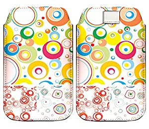 Wow Premium Design Pu Leather Pull Tab Protective Pouch For Lenovo A6000 Plus