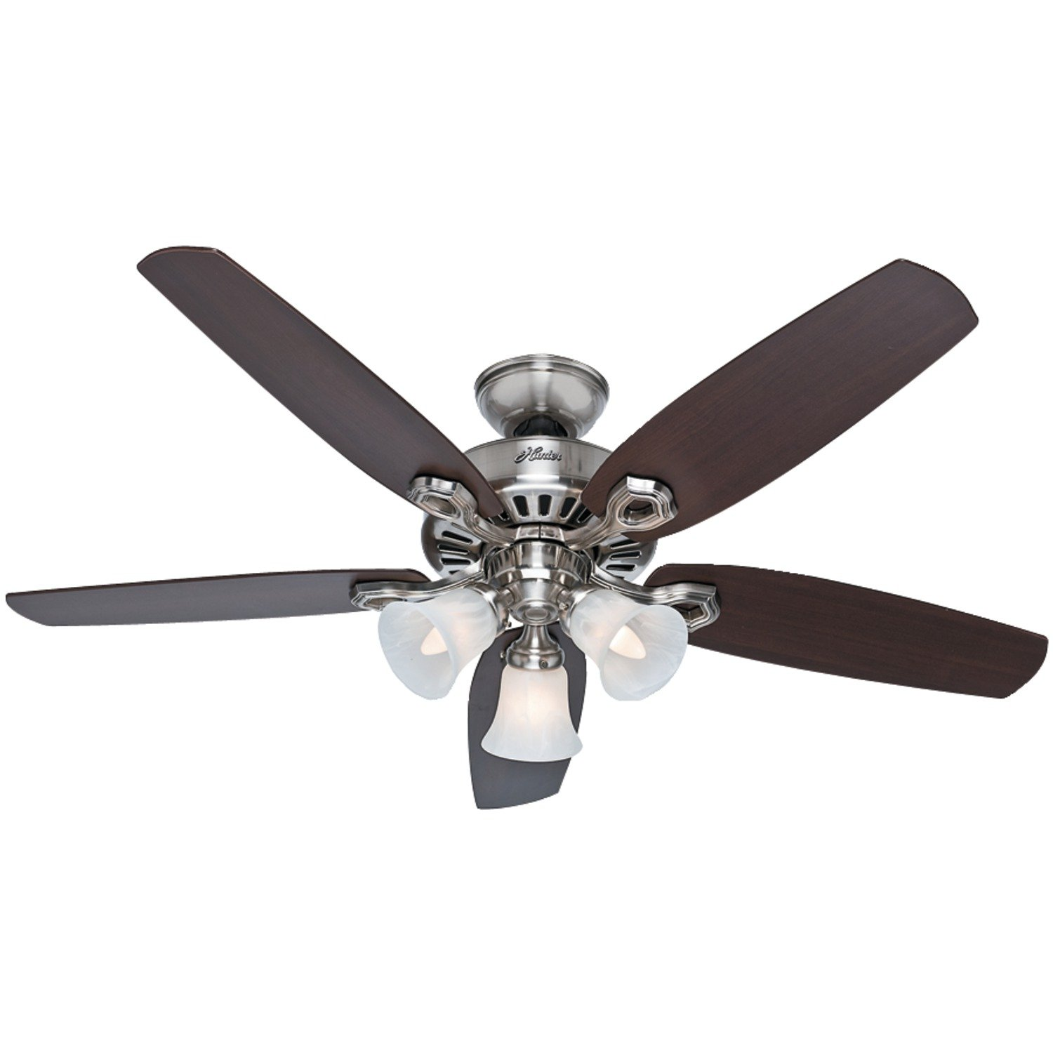 Top ten best ceiling fans reviews sure that your fan remains quiet for life in addition it has got three fun speeds low medium and high it comes with a life time motor warranty aloadofball Images