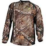 Robinson Scent Blocker 8th Layer Long Sleeve Polyester Shirt with S3 Silver