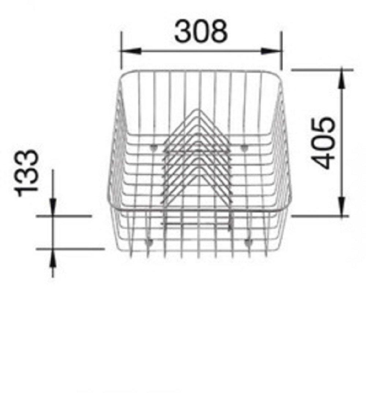Blanco 507 829 Geschirrkorb Edelstahl  BaumarktKundenbewertung und Beschreibung