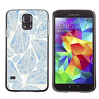 Smartphone Protective Case Slim PC Hard Cover Case for Samsung Galaxy S5 / CECELL Phone case / / Simple Elegant Rough Diamond /