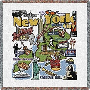 Pure Country New York City Lap Square - 53 x 53 Blanket/Throw at Sears.com