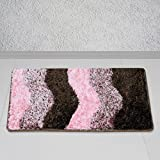 Story@Home Pink Regal 1 Pc Door or Bath Mat