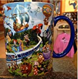 Walt Disney World Theme Park Storybook Mickey Mouse Large Ceramic Mug NEW