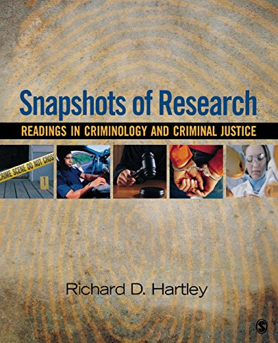 Snapshots of Research: Readings in Criminology and...