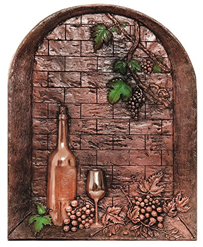 Good Directions 2004C Wine Cellar Mural & Backsplash,