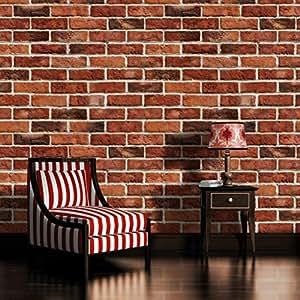 Brick wall wallpaper mural for Amazon mural wallpaper