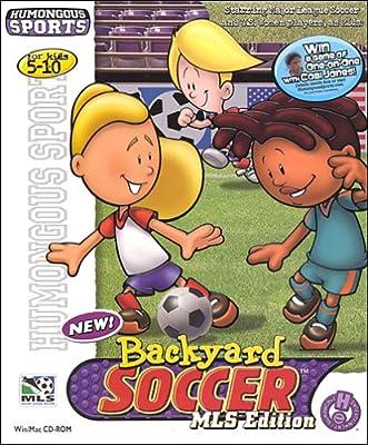 Backyard Soccer 2001 MLS Edition - PC/Mac (Hall of Game)