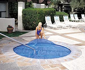 Floating Solar Spa and Hot Tub Cover 7 ft. x 8 ft.