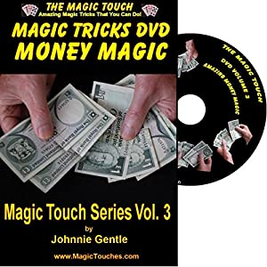 MAGIC TRICKS WITH MONEY - Amazing Money Magic Tricks DVD Volume 3 - With Full Demonstration and Explanation of Basic Skills to Enable You to Perform Many Stunning Magical Effects with Money, Coin Tricks, Tricks with Banknotes and Dollar Bills, Self Workin