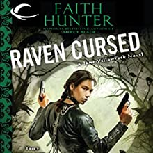 Raven Cursed: Jane Yellowrock, Book 4 Audiobook by Faith Hunter Narrated by Khristine Hvam