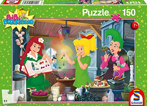 SCHMIDT Witches Lab Children's Puzzle (150-Piece)