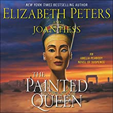 The Painted Queen: An Amelia Peabody Novel of Suspense Audiobook by Elizabeth Peters, Joan Hess Narrated by Barbara Rosenblat