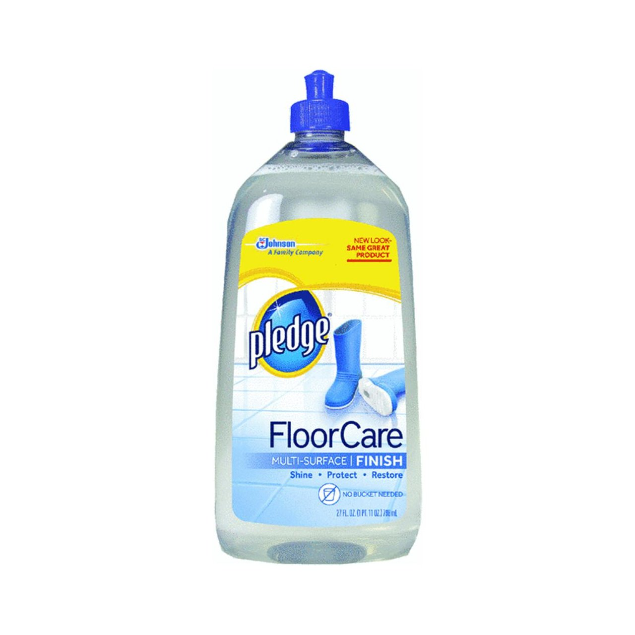 how to use pledge floor care finish