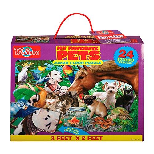 T.S. Shure Favorite Pets Jumbo Floor Puzzle - 1