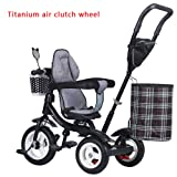 Prams/Strollers Titanium Wheels bike, children tricycle, light trolley, baby baby baby carriage, children's bike (Color : # 3) (Color: # 3)