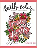 img - for Faith in Color: An Adult Coloring Book, Premium Edition book / textbook / text book