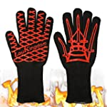 LauKingdom BBQ Grilling Cooking Glove...