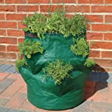 Bosmere Herb Planter Bag, Resin & Plastic, 14x14x18