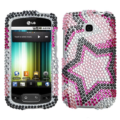 LG P509 P506 Optimus T, Thrive Phoenix Hard Plastic