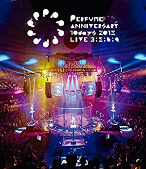 Perfume Anniversary 10days 2015 PPPPPPPPPP「LIVE 3:5:6:9」(通常盤) [Blu-ray]