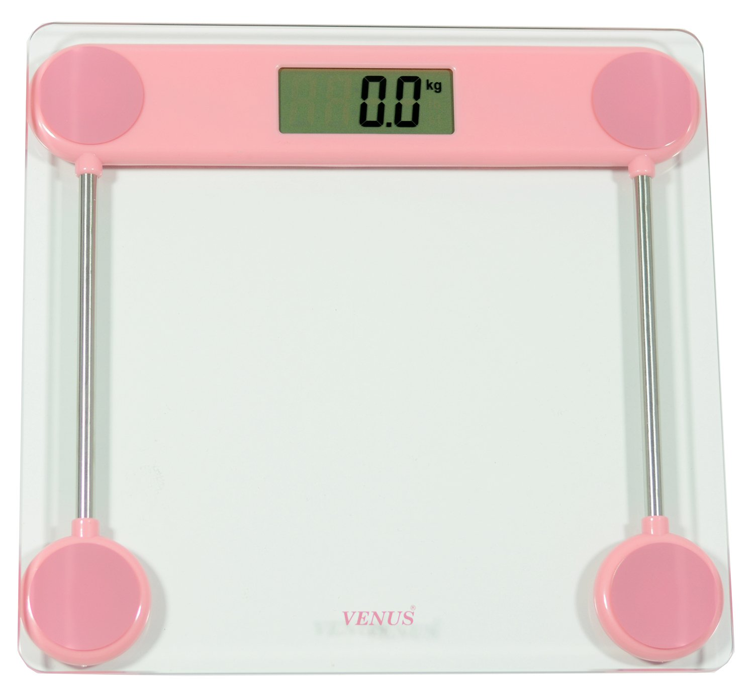 Venus Pink Personal Electronic Digital LCD Weight Machine Body Fitness Weighing Bathroom Scale Weight Machine available at Amazon for Rs.799