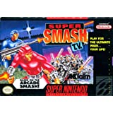 Super Smash TV - Nintendo Super NES ~ Acclaim