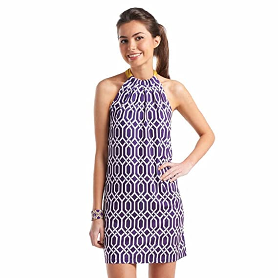 Purple and Gold Game Day Dress