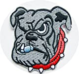 "NCAA Georgia BULLDOGS Mascot 2"" Wide Embroidered PATCH at Amazon.com"