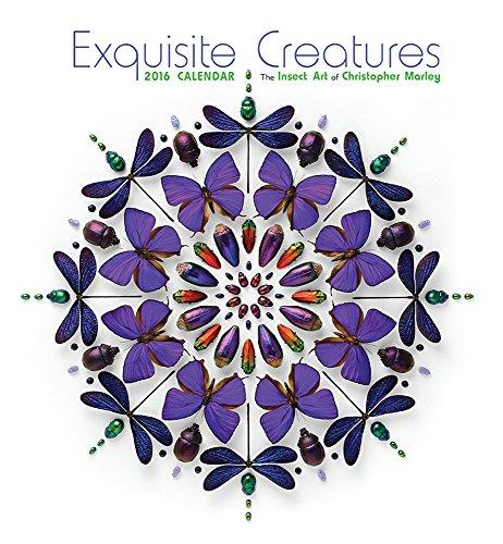Marley/Exquisite Creatures 2016 Wall Calendar