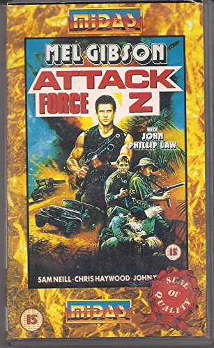 attack-force-z-rare-midas-vhs-video-mel-gibson-sam-neil