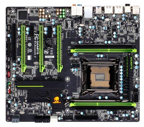 AS Rock Socket 2011 Intel X79 DDR3 Quad SLI Quad Crossfire SATA3 USB3.0 GbE ATX Motherboard X79 EXtreme9