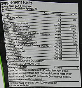 Muscle Pharm Amino 1 Dietary Supplement, Fruit Punch, 1.77 Pound