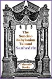img - for Soncino Babylonian Talmud Sanhedrin book / textbook / text book